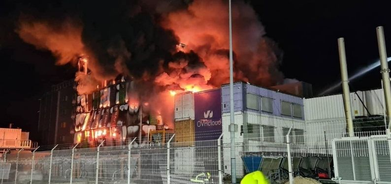 Datacenter OVH incendio